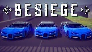 Download Besiege Multiplayer - EPIC CAR RACE! - Besiege Multiverse Update Gameplay Video