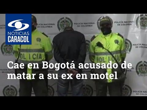 Cayó en Bogotá, de la forma menos pensada, sujeto acusado de matar a su ex en motel de Barranquilla