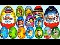 Download Đồ chơi trẻ em - Bóc trứng socola Kinder Surprise Eggs (Chim Xinh) Video