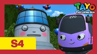 Download Tayo S4 #09 l Trammy's first day at work l Tayo the Little Bus l Season 4 Episode 9 Video