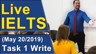 Download IELTS Live - Task 1 Writing - Practice for Band 9 Video