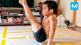 Download SUPER KID or Baby Bruce Lee? - Ryusei Imai | Muscle Madness Video