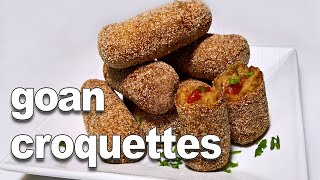 Download Goan Beef Croquettes - YouTube | Easy and Tasty Goan Snack Recipe ||*Fatima Fernandes | Beef Snack Video