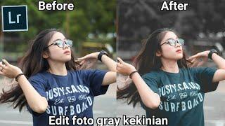 Download Edit foto gray kekinian #5 menggunakan Adobe Lightroom di Android/HP. Video