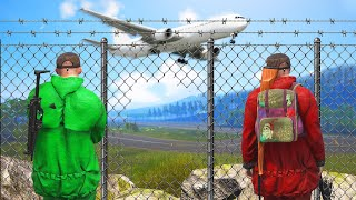 Download Breaking Into A GUARDED Airport! (Scum) Video