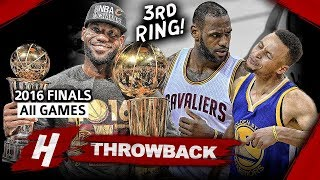 Download LeBron James 3rd Championship, EPIC Full Series Highlights vs Warriors 2016 NBA Finals - Finals MVP! Video