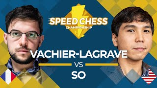 Download Maxime Vachier-Lagrave vs. Wesley So: 2019 Speed Chess Championship Video
