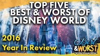 Download TOP 5 BEST & WORST Disney World 2016 Year In Review | Best & Worst 01/04/17 Video