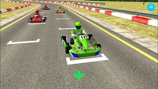 Download Car Racing Games ″GO KART RACING 🏁 3D″ | FHD Android & iOS Gameplay | Car Games For Kids Boys Girls Video