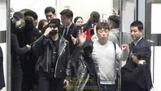 Download BTS 防彈少年團(방탄소년단) Arrived Hong Kong Airport 20161201 Video