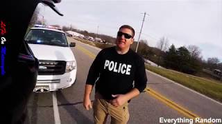 Download POLICE vs BIKERS 2018 Police Chase, Getaway & Pullovers! 2019 [Ep #82] Video