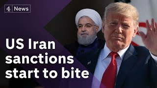 Download Trump clashes with EU over Iran sanctions Video