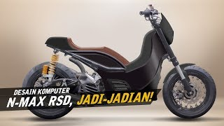 Download Yamaha Nmax Custom HyperSkutik - Desain Komputer #AtenxKatros Video