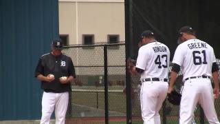 Download 2017 Tigers Spring Training-Bruce Rondon Throws Bullpen Session Video