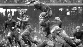 Download Oldest football footage ever (American football/Gridiron) Video