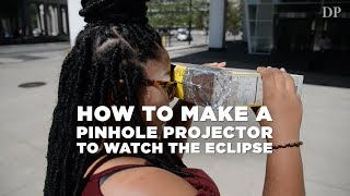 Download How to make a pinhole projector to watch the eclipse Video