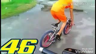 Download Basikal Lajak Fly Superman Sprint Video
