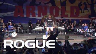 Download 2019 Arnold Strongman Classic | Rogue Elephant Bar Deadlift - Full Live Stream Event 1 Video