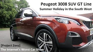 Download A British ″Summer Holiday″ in the Peugeot 3008 SUV GT | Project Zenz (Car Show Parody) Video