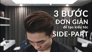 Download 3 BƯỚC ĐƠN GIẢN để tạo kiểu tóc SIDE PART | Style a Side Part in 3 steps Video