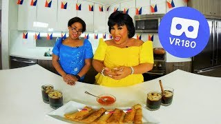 Download HOW TO MAKE LUMPIA IN VR | PatrickStarrr Video