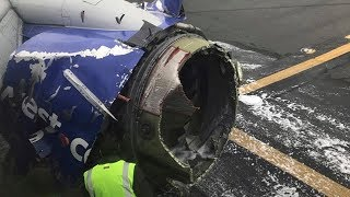Download Listen to Southwest pilot calmly land plane after engine apparently exploded Video