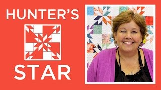 Download Hunter's Star Quilt Made Easy with Jenny Video