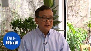Download Opposition leader Sam Rainsy denounces Cambodia's 'sham election' Video