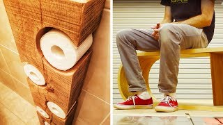 Download 10 AMAZING PROJECTS MADE FROM WOOD Video