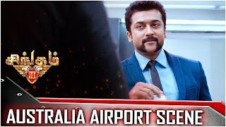Download Singam 3 - Tamil Movie - Australia Airport Scene | Surya | Anushka Shetty | Harris Jayaraj Video