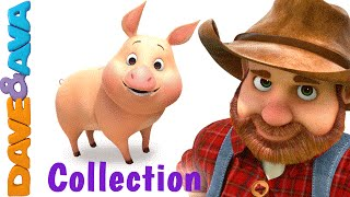 Download Old MacDonald Had a Farm | Animal Sounds Song | Nursery Rhymes & Baby Songs Collection Dave and Ava Video