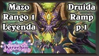 Download Druida Y'Shaarj Mazo top 1 Leyenda | p.1 [Hearthstone Construido] Video