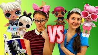 Download LOL Surprise Dolls Theater Club vs Storybook Club Games with Curious QT, TBTV Kelsey and Jessie! Video