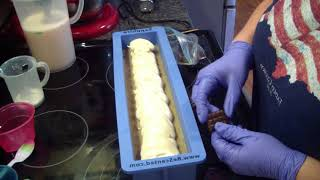 Download Making & Cutting French Vanilla Coffee Soap. Video