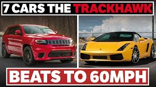 Download 7 Cars The Jeep Grand Cherokee Trackhawk Can Beat To 60mph Video