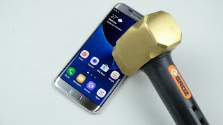 Download Samsung Galaxy S7 Edge Hammer & Knife Scratch Test Video