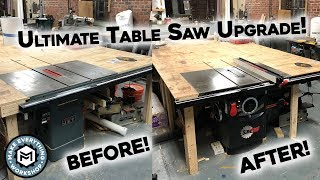 Download Setting Up My Dream Table Saw! 5HP Sawstop! Video
