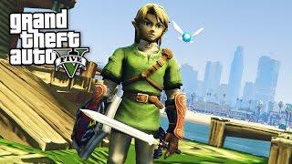 Download LEGEND OF ZELDA!! (GTA 5 Mods Gameplay) Video