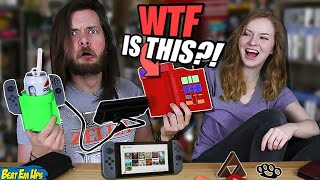 Download My Girlfriend Buys My WEIRD Nintendo Switch Accessories! Video