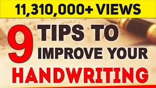 Download How To Improve Handwriting | 9 Important Tips | LetsTute Video
