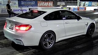 Download 550 RWHP Tuned Twin Turbo BMW M4 - 1/4 mile Video - Road Test TV Video