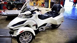 Download All New 2014 Can Am Spyder RT! - 1st Real Test Ride! | TestRides Video