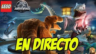 Download LEGO JURASSIC WORLD EN DIRECTO! - Preparando Jurassic World Fallen Kingdom Video