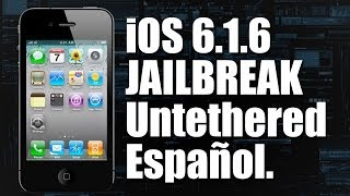 Download Tutorial: iOS 6.1.6 Jailbreak Untethered - iPod iPhone iPad - (En español) Video
