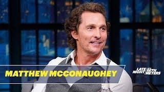 Download Matthew McConaughey's Dad Resuscitated a Drowned Cockatiel Video