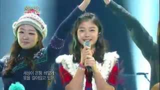 Download [HIT] 불후의 명곡2-B1A4&김유정(Kim Yoo Jung) - White Love(스키장에서) 20121215 Video