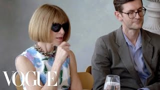 Download Contestants Pitch Their Designs to Anna Wintour and the Judges | The Fashion Fund EP. 2 | Vogue Video