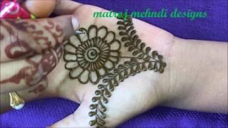 Download Mehndi design for hands|Mehndi design latest for kids |matroj Mehndi designs Video