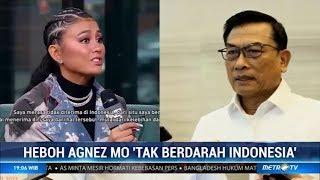 Download Heboh Agnez Mo 'Tak Berdarah Indonesia' Video