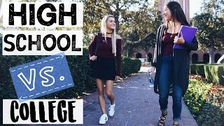 Download HIGH SCHOOL VS COLLEGE SITUATIONS | Tasha Farsaci Video